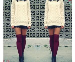 fashion, coat, and dress image