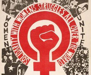 feminism, women, and international women's day image