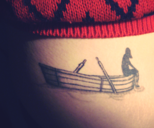 boat and tattoo image