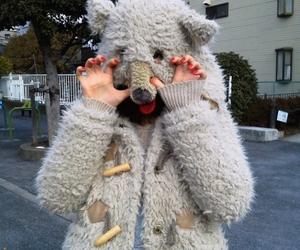 bear, girl, and kawaii image