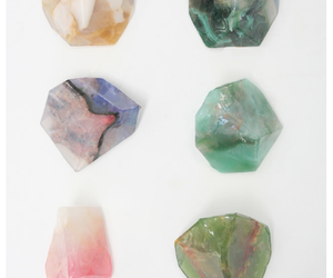 crystal, colorful, and green image