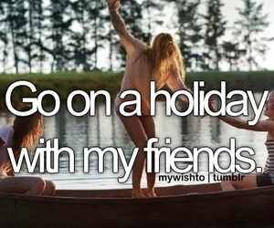 holiday, friends, and fun image