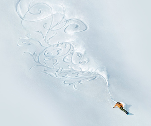 awesome, beautiful, and snowboard image