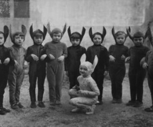 child, costume, and kids image