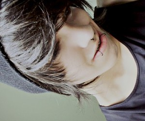 boy, piercing, and cute image