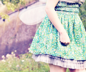 girl, dress, and fairy image