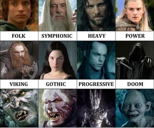 metal and the lord of the rings image