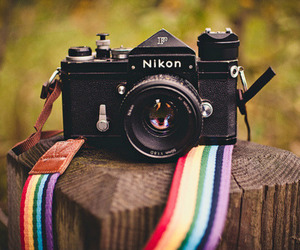 camera, nikon, and photography image