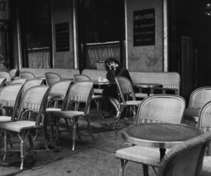 cafe and woman image