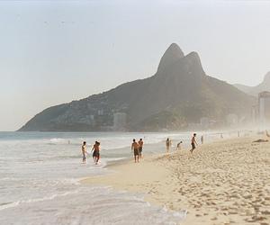 beach, brazil, and rio de janeiro image