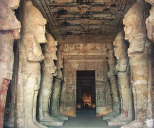 egypt, god, and abu simbel image