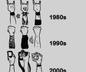 rock, concert, and evolution image