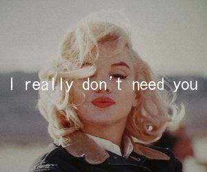 need and you image