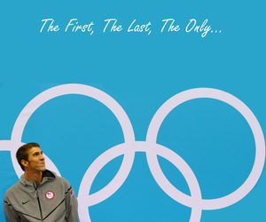 olympics, Michael Phelps, and swimming image