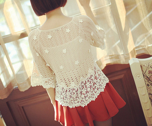 fashion, cute, and lace image