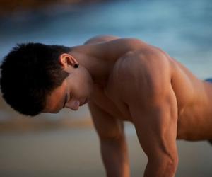 body, girls, and man image