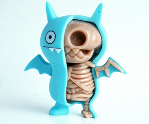 toys, blue, and skeleton image