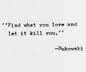 black and white, kill, and quote image