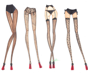 legs, sexy, and art image