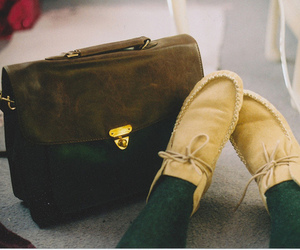 shoes, vintage, and bag image