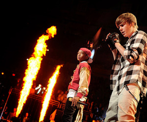 fire, justin bieber, and Hot image