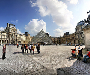 france, louis xiv, and louvre image