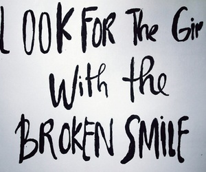 broken, maroon 5, and smile image