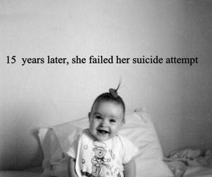suicide, sad, and baby image