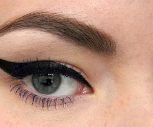 eyeliner, makeup, and killer colours image