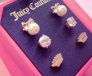 juicy couture and earrings image