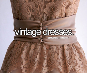 dress, vintage, and little reasons to smile image