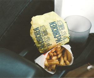 food, McDonalds, and hipster image