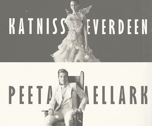 katniss everdeen, peeta mellark, and the hunger games image