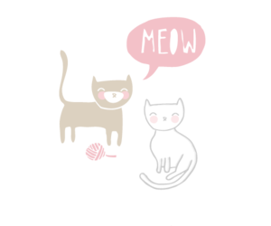 cats, illustration, and kitties image