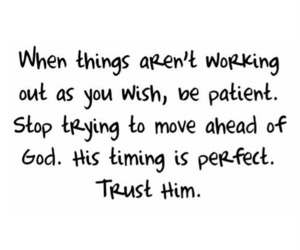 god, stop, and trust image