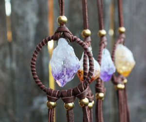 crystal, Dream, and dream catcher image