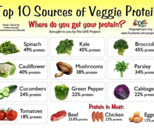 healthy, protein, and food image