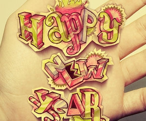 design, illustration, and new year image