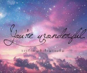 galaxy, quote, and space image