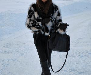 fashion, snow, and mariannann image
