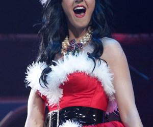 girl, christmas, and katy perry image