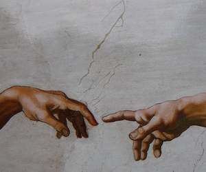 fresco, michelangelo, and rome image