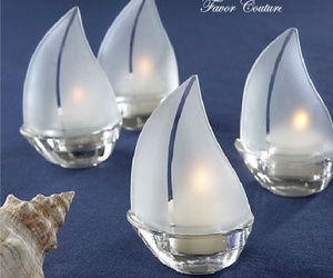 party favors, candle favors, and beach favors image