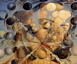 oil and sphere image