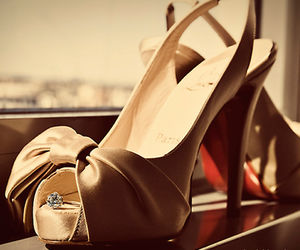 heels, shoes, and ring image