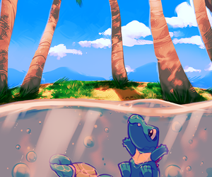 pokemon, water, and cute image