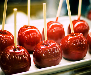 apple, food, and candy image