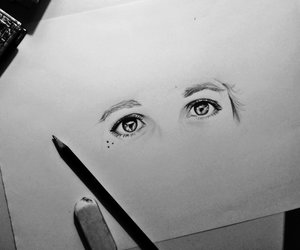 bmth, drawing, and oli sykes image
