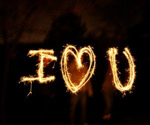 love, cute, and light image