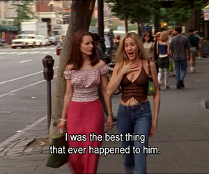Carrie Bradshaw and true image